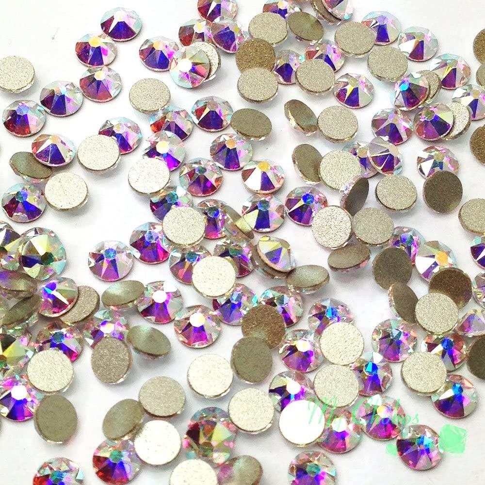 720 pcs Crystal AB (001 AB) Swarovski NEW 2088 Xirius 16ss Flat backs Rhinestones 4mm ss16