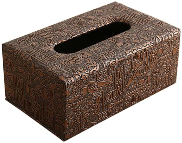 George Jimmy Contemporary Simple Design Tissue Holder Facial Tissue Box for Home/Car, 07