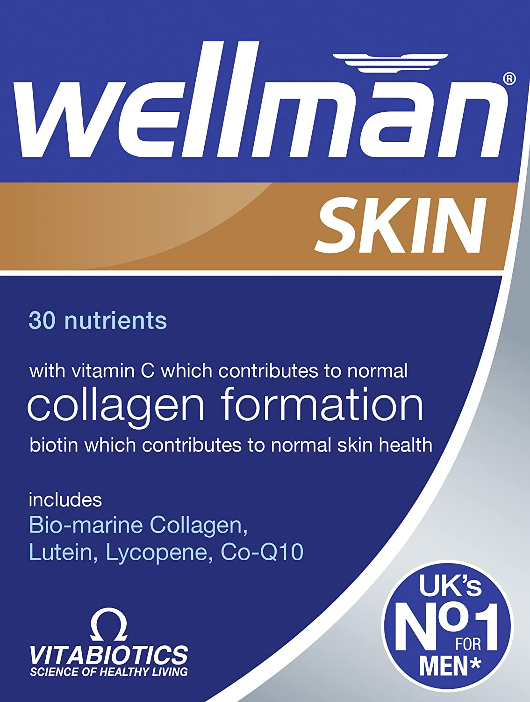 Vitabiotics Wellman Skin Technology Tablets - 60 Tablets