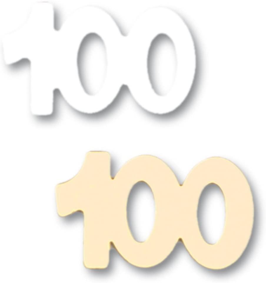 Efco Sequins 100 13 mm 20 g Gold Silver, 5x5x1 cm