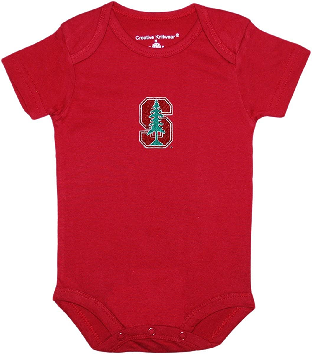 Stanford University Tree Baby Bodysuit by Creative Knitwear