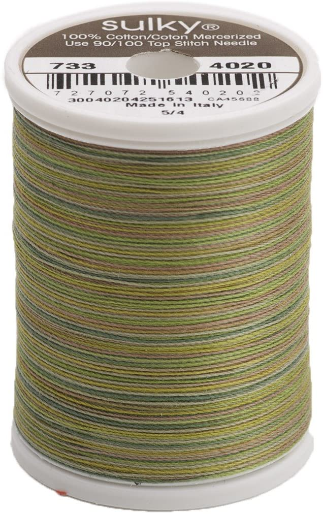 Sulky Blendables Thread for Sewing, 500-Yard, Moss Medley
