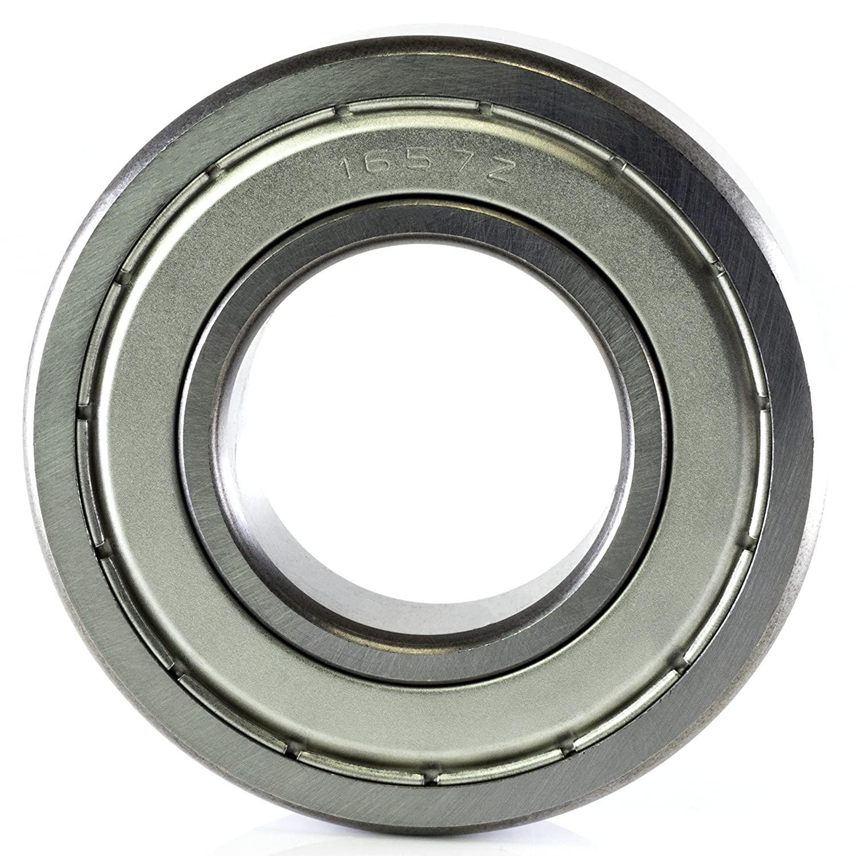 1657ZZ 1657 ZZ 1-1/4 x 2-9/16 x 11/16 Double Sealed Precision Ball Bearing CNC Slide Bushing
