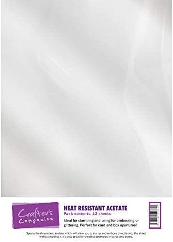 Crafters Companion Heat Acetate, A4, Transparent