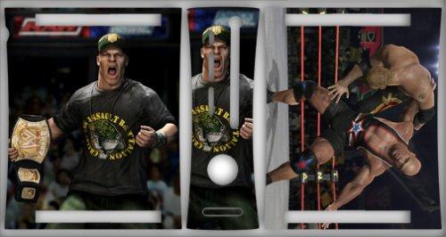 XBOX 360 WWE SMACKDOWN RAW 2009 Skin vinyl wrap for 260 console