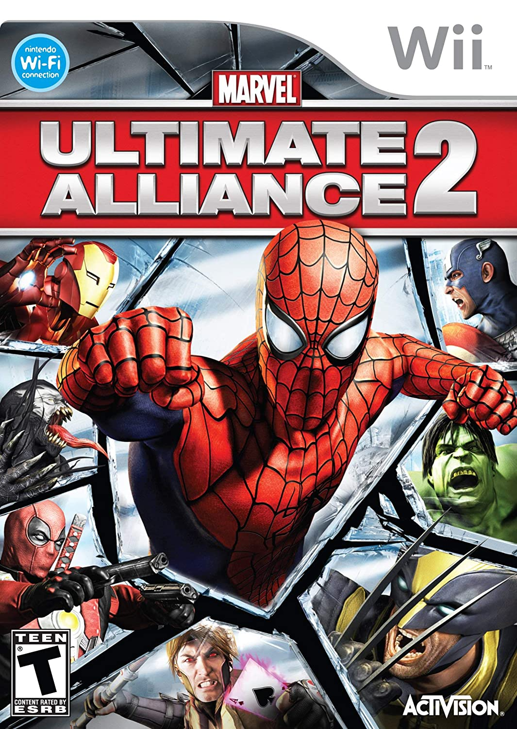 Marvel Ultimate Alliance 2 - Nintendo Wii (Renewed)