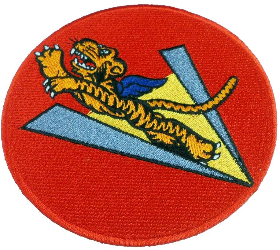 WWII US American Volunteer Group Patch 4.0'' Military Reproduction