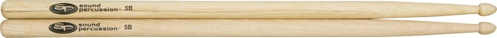 Sound Percussion Hickory Drumsticks - Pair Wood 5B