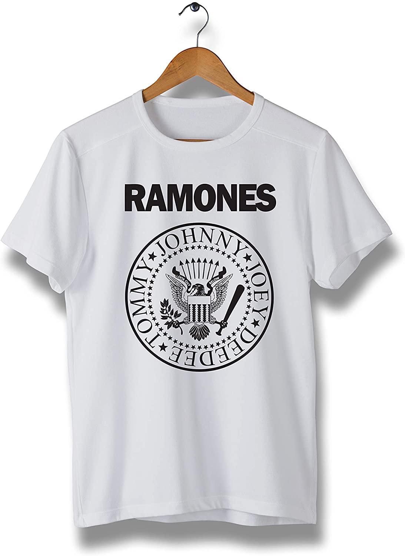 Punk Rock Band White T-Shirt - Comfortable 100% Cotton tee