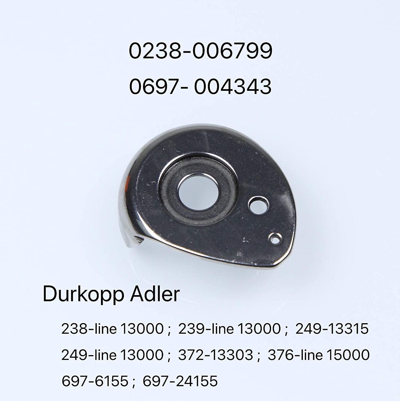 0238-006799/0697-004343 Bobbin Cap for DURKOPP Adler 238, 239, 249, 372, 376, 697 Sewing Machine