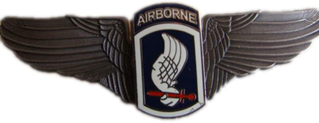 WW2 Style US Army 173rd Airborne Metal Wings Badge Pin Military Brooch Commemorative