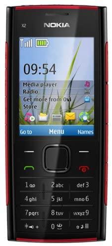 Nokia X2-01 QWERTY Keyboard, Quadband, A2dp, Bluetooth, Unlocked International Version Phone (Black)