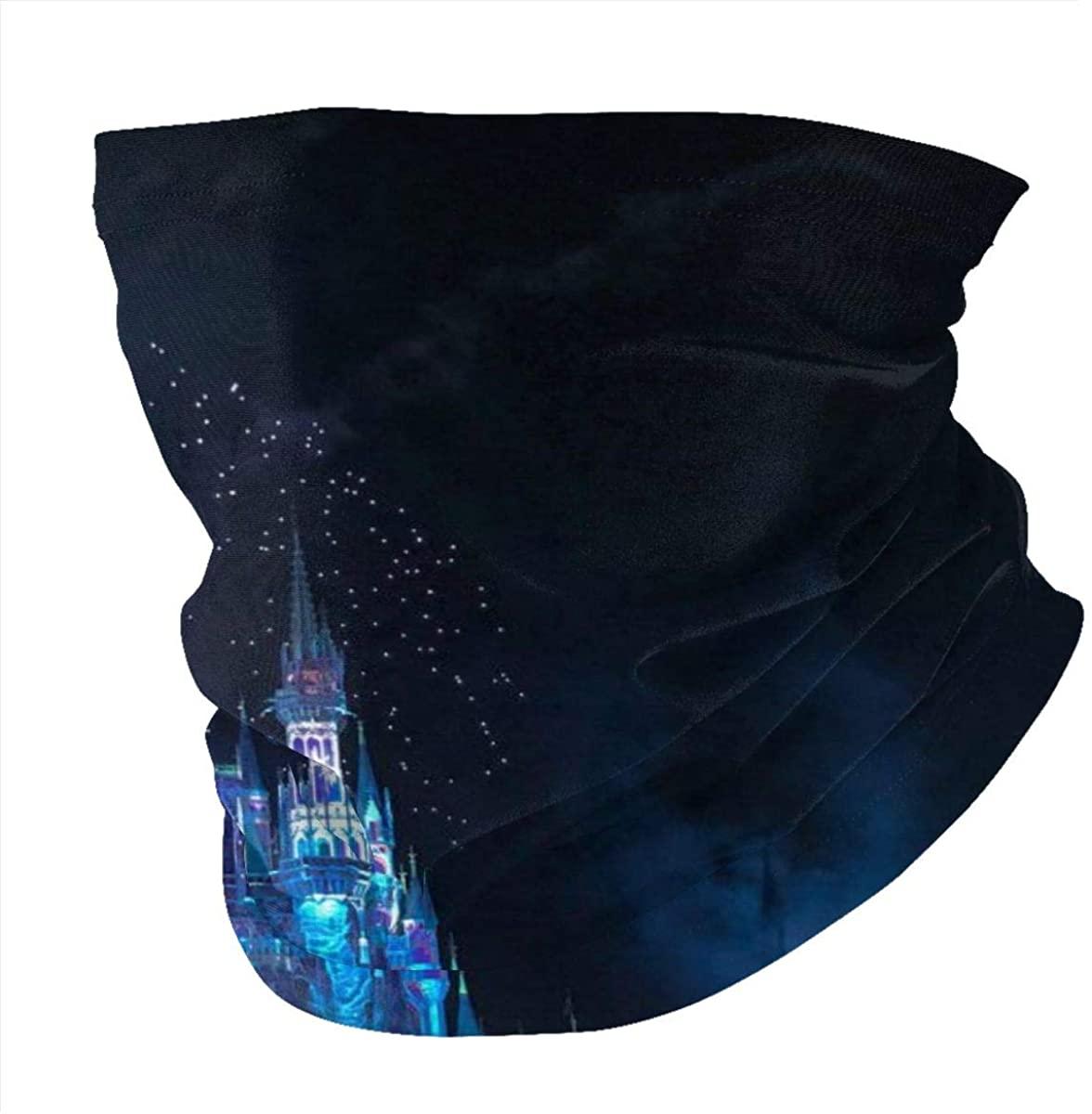 Castle Neck Gaiter Face Cover Multifunctional Headwear Sport Scarf for Man.Men Women