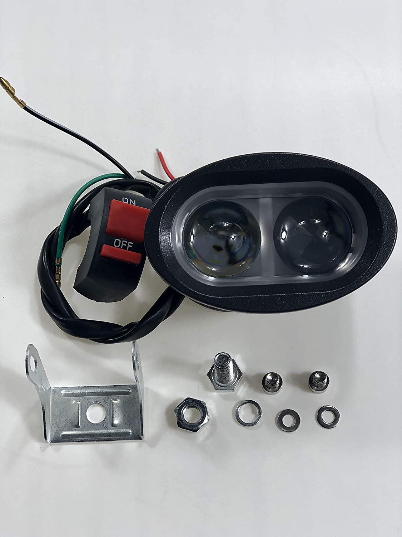 Electric Bike 48V Headlight Front light,LED Night Lamp Flashing Spotlight Headlamp Cycling EBike Accessories Part