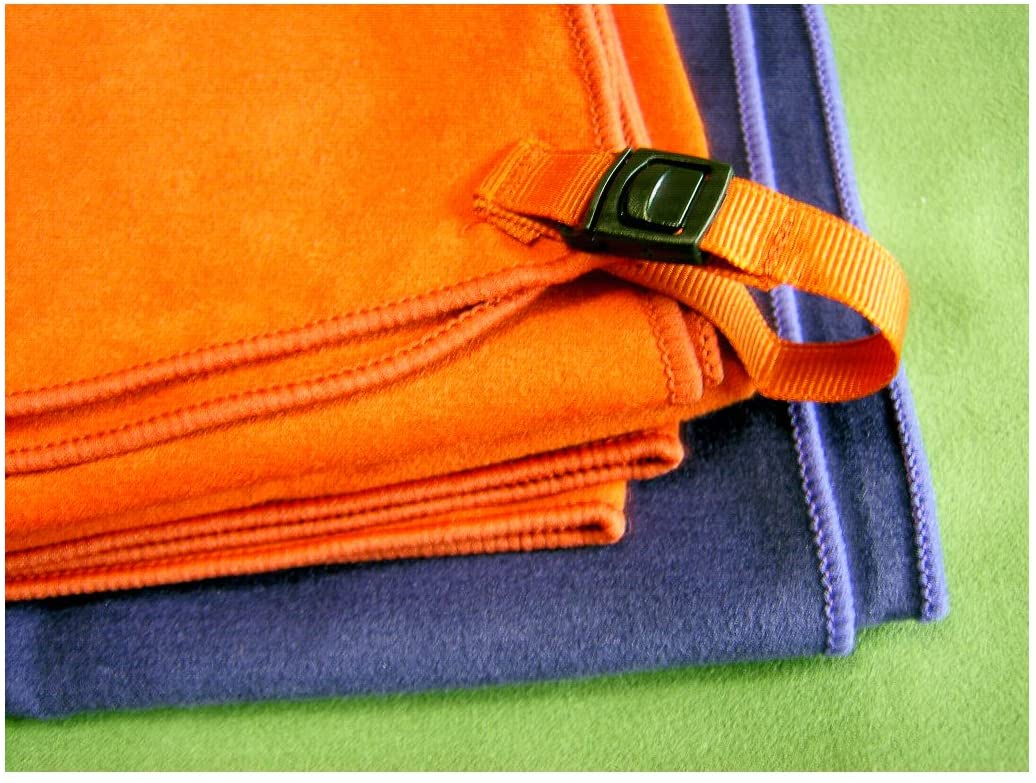 cygnus Multi Function Microfiber Suede Sports Towel 2p for Bath Yoga Hiking Camping