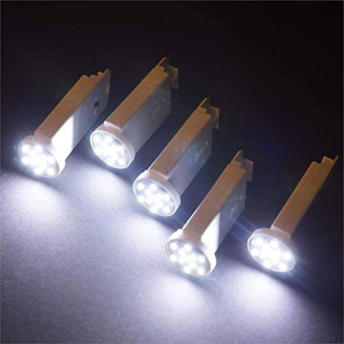 Efavormart 12/pk Paper Lantern Remote Controlled LED Lights - White