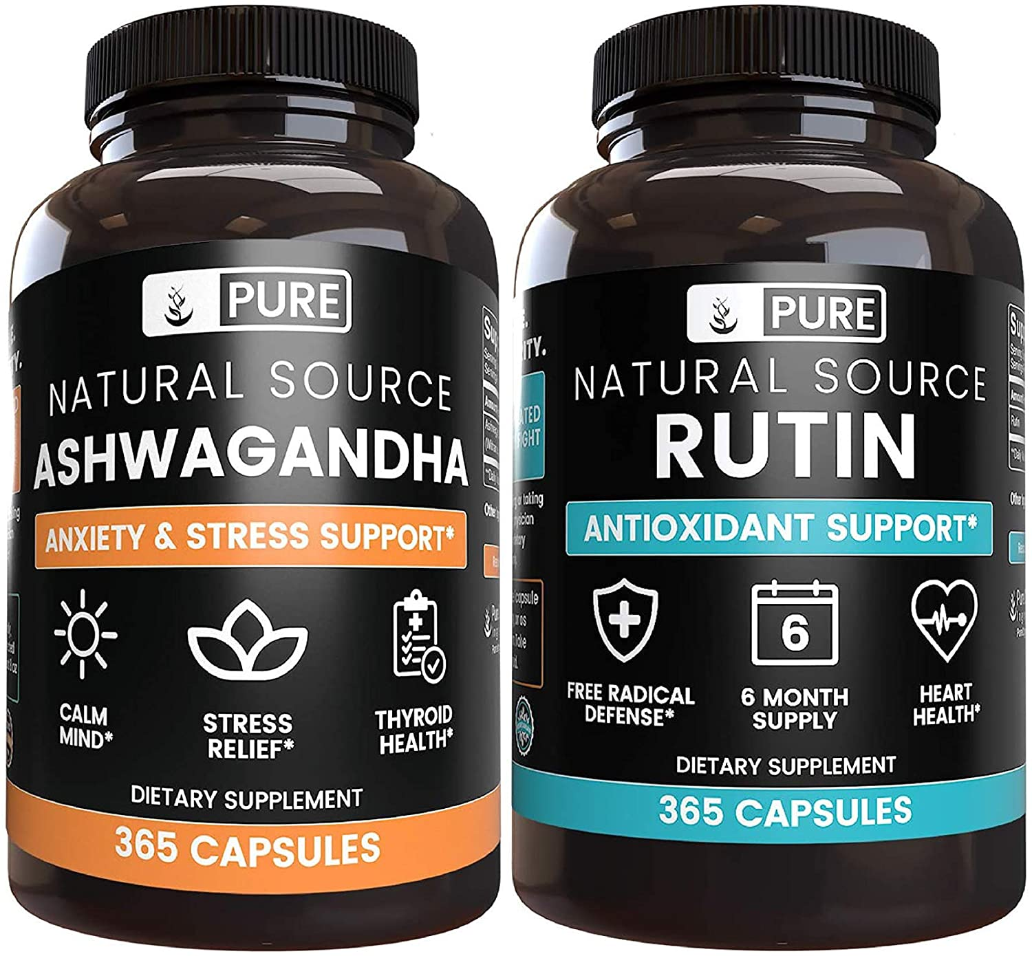 Anti-Stress and Vascular Health Support Bundle