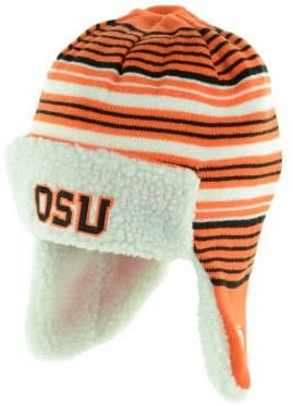 Oregon State Beavers Knit Trooper Beanie One Size Fits All OSFA NCAA Authentic Hat Cap - Team Colors