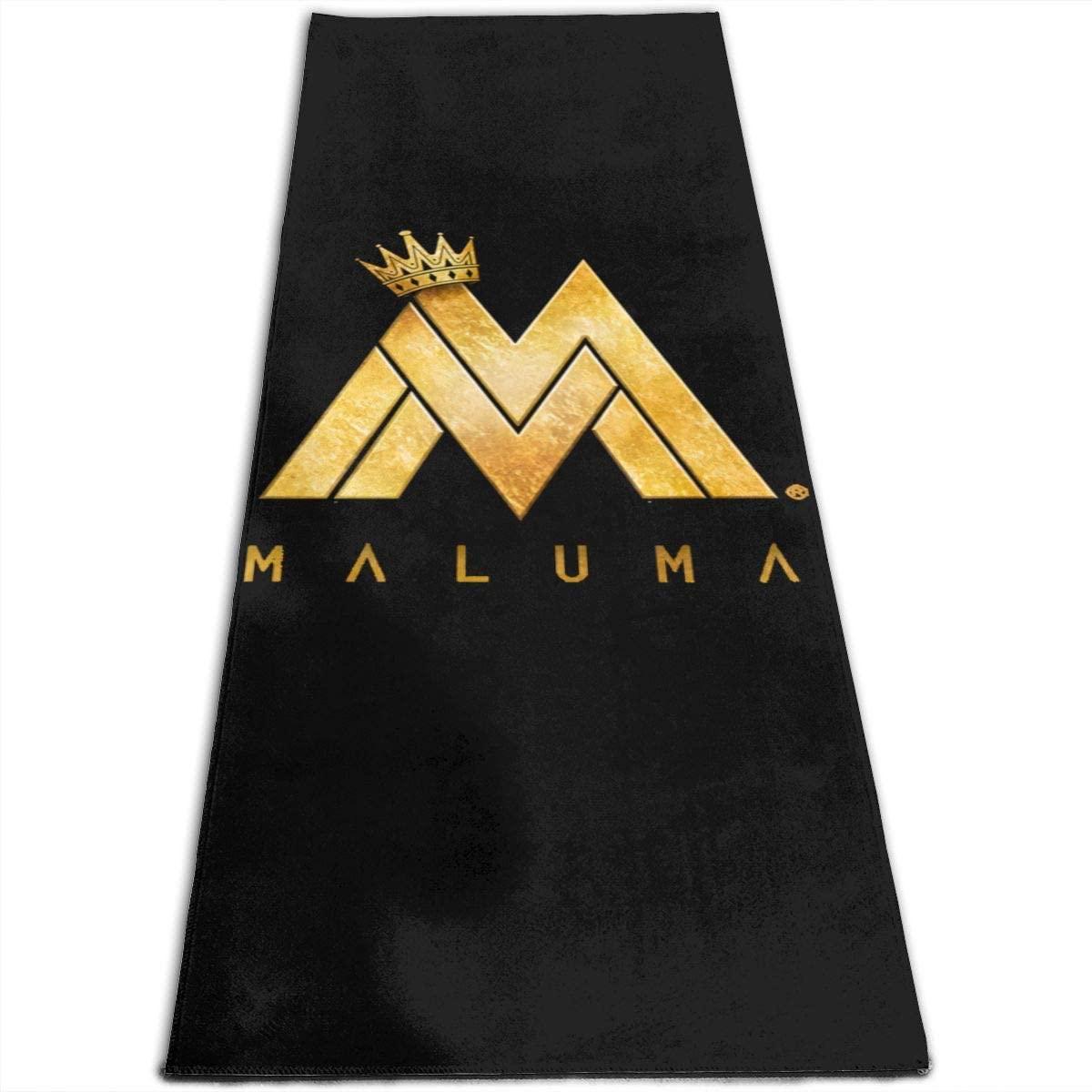 Maluma Yoga Mat Non-Slip Fitness Pad Workout Exercise Gym Pad Pilates Accessory Tool
