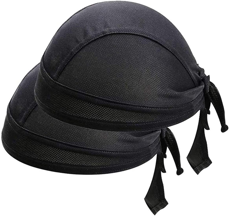 Cycling Skull Cap Sweat Wicking Beanie Cap Doo Dew Rags Anti-UV Bandana Head Wrap Helmet Liner