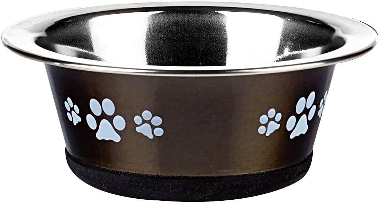 Classic Pet Products Classic Posh Paws Cat Dish, 240 ml, Graphite