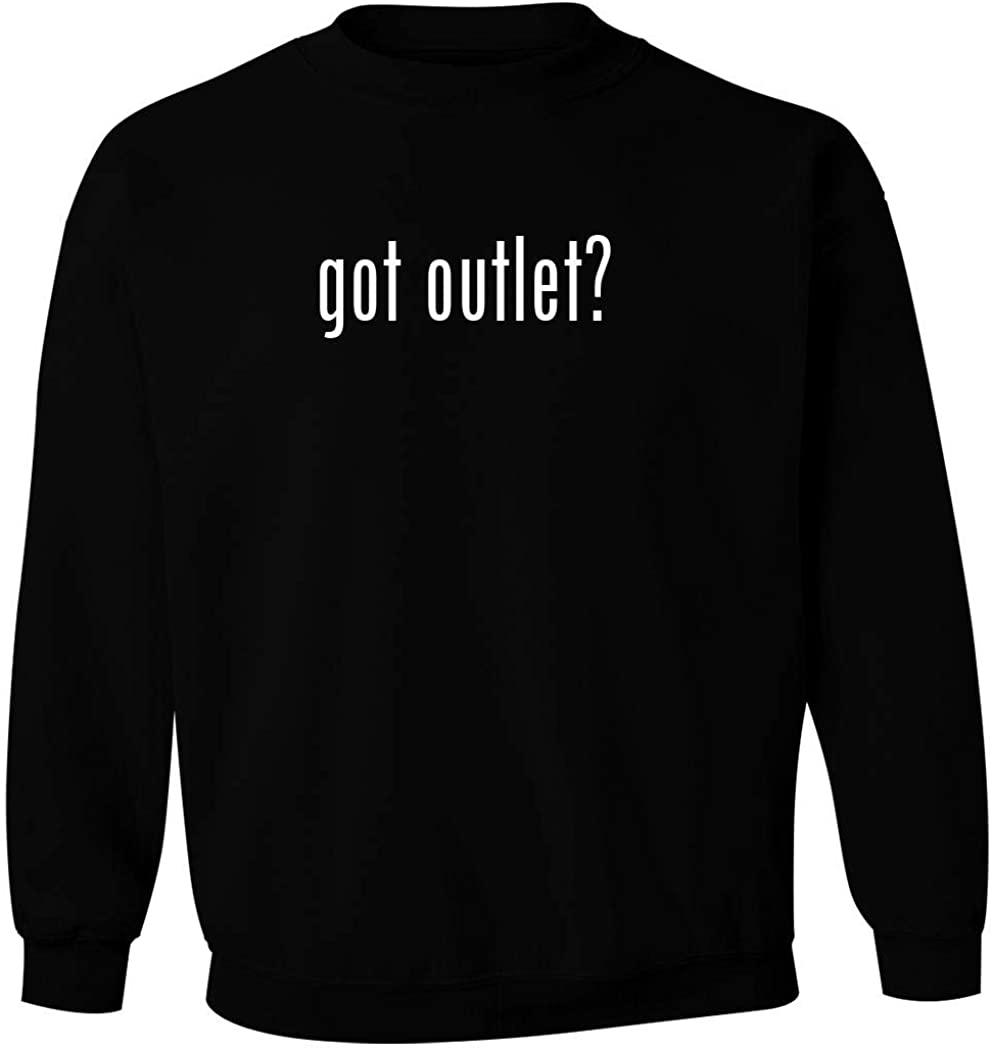 got outlet? - Men's Pullover Crewneck Sweatshirt