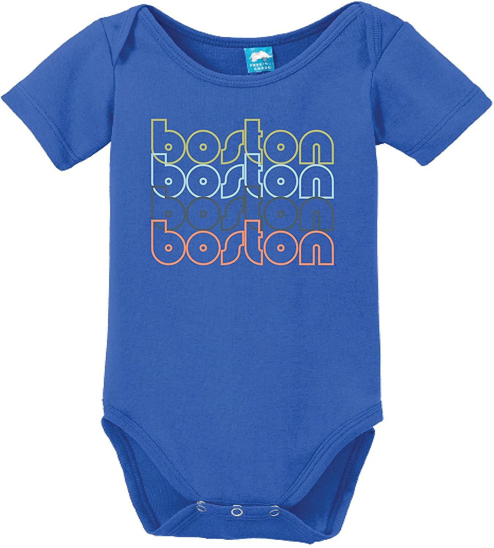 Sod Uniforms Boston Massachsetts Retro Printed Infant Bodysuit Baby Romper