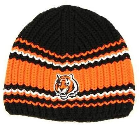 Cincinnati Bengals Uncuffed Knit Hat by Reebok KZ218