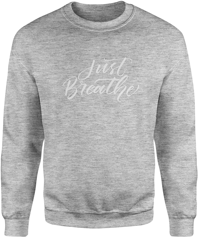 Motivated Culture Just Breathe Crewneck Sweatshirt