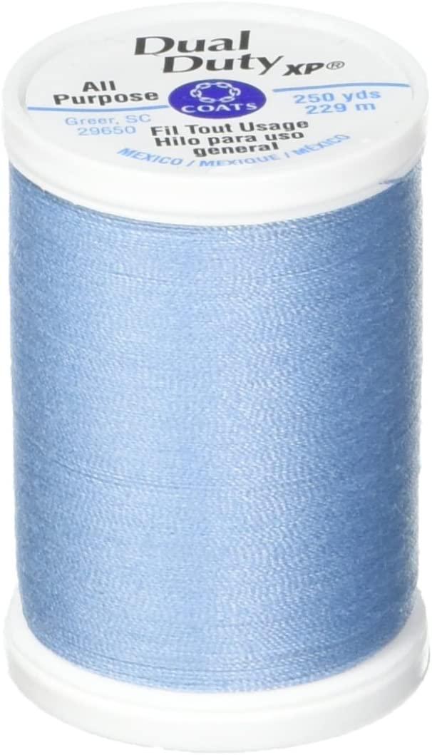 Coats: Thread & Zippers Dual Duty XP General Purpose Thread, 250-Yard, Blue