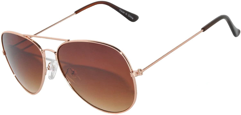 Aviator Gold Sunglasses Classic
