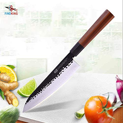 Best Quality Kitchen Knives 9 inch Japanese Professional Handle Clad Steel Sushi Knife Kitchen Chef Knife