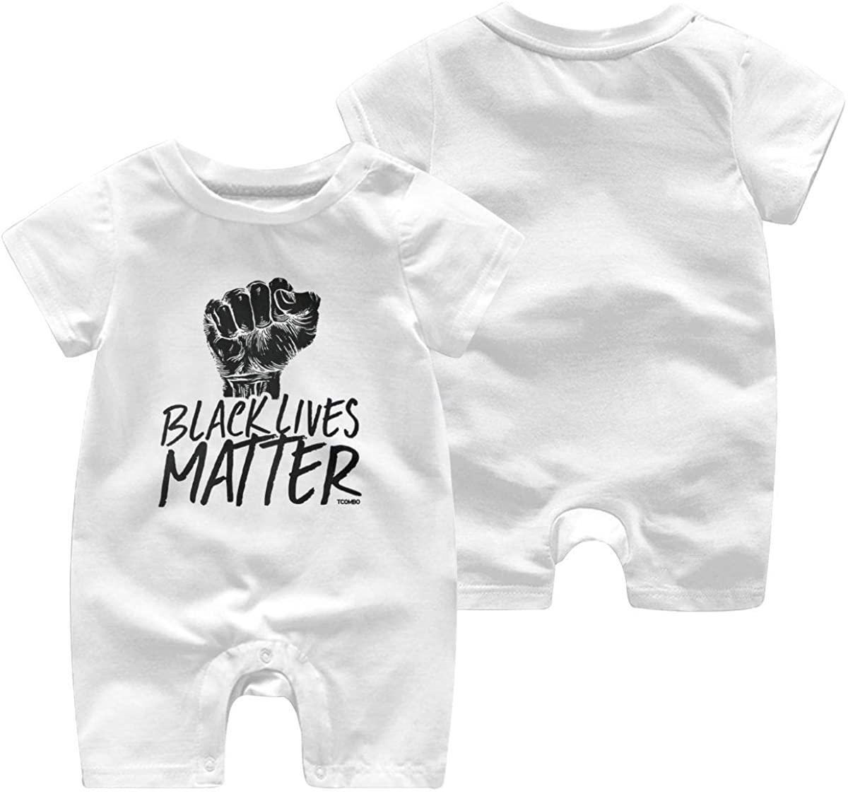 Black Lives Matter - Revolution Movement Baby Jumpsuit Infant Short Sleeve Kids Cotton Bodysuit