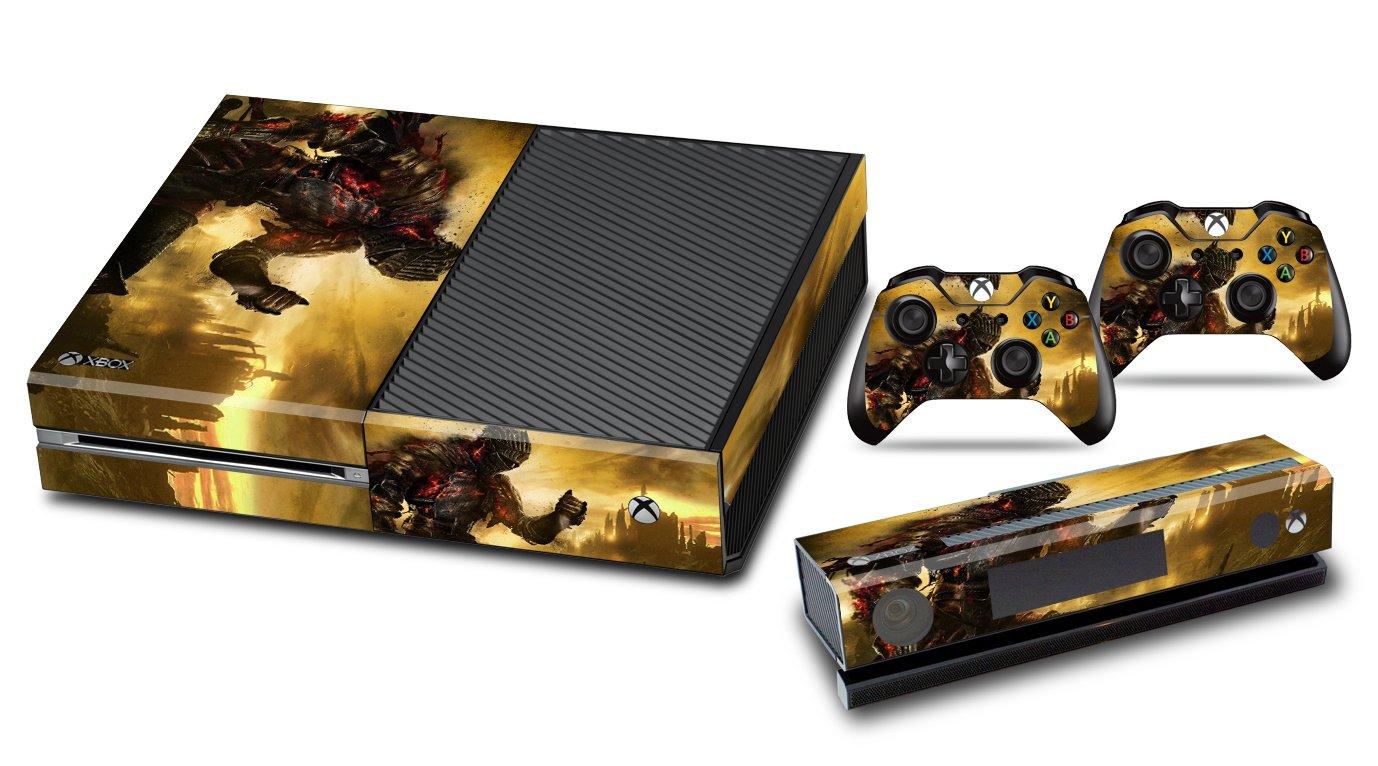 EBTY-Dreams Inc. - Microsoft Xbox One Original - Dark Souls 3 Video Game The Ashen One Vinyl Skin Sticker Decal Protector