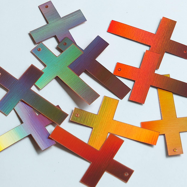 Simple Cross Sequin 1.5