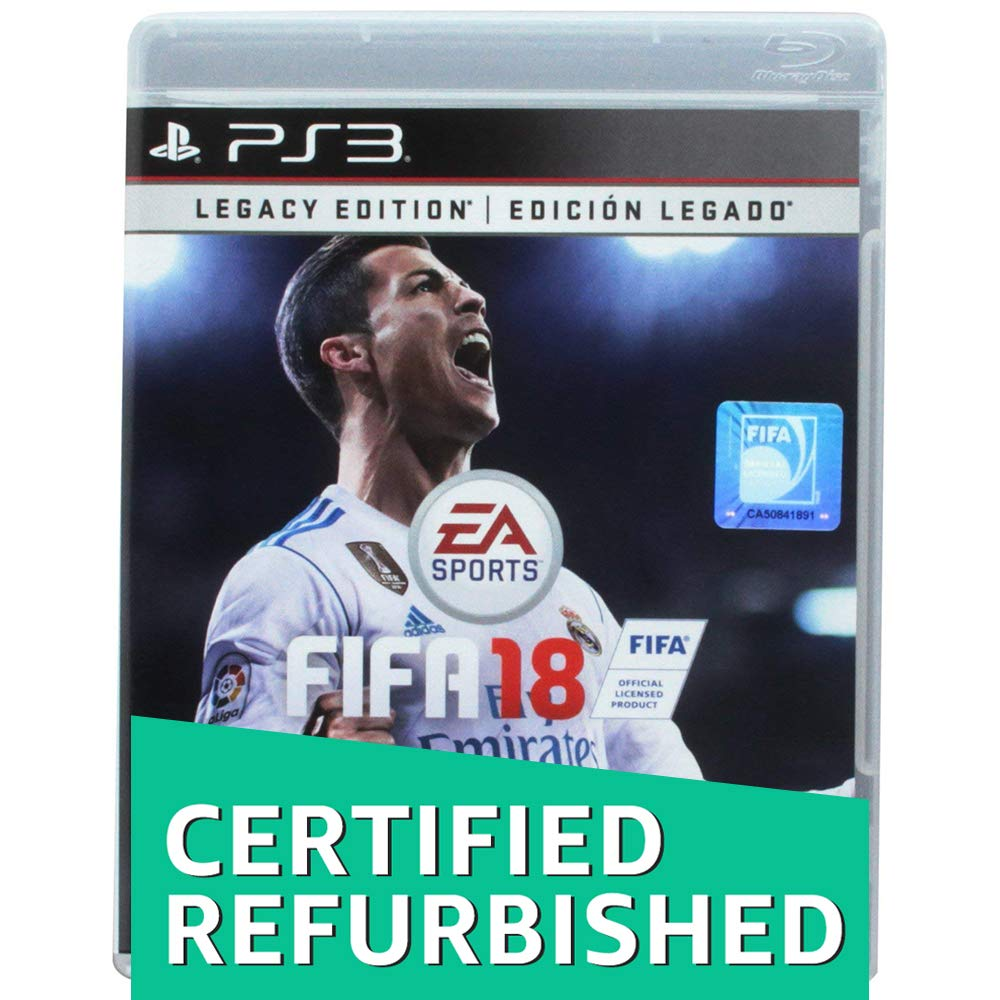 FIFA 18 Legacy Edition - PlayStation 3 (Renewed)