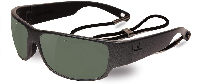 Vuarnet VL1621 0005 (Matt Black with Grey polarised with Mirror effect lenses)