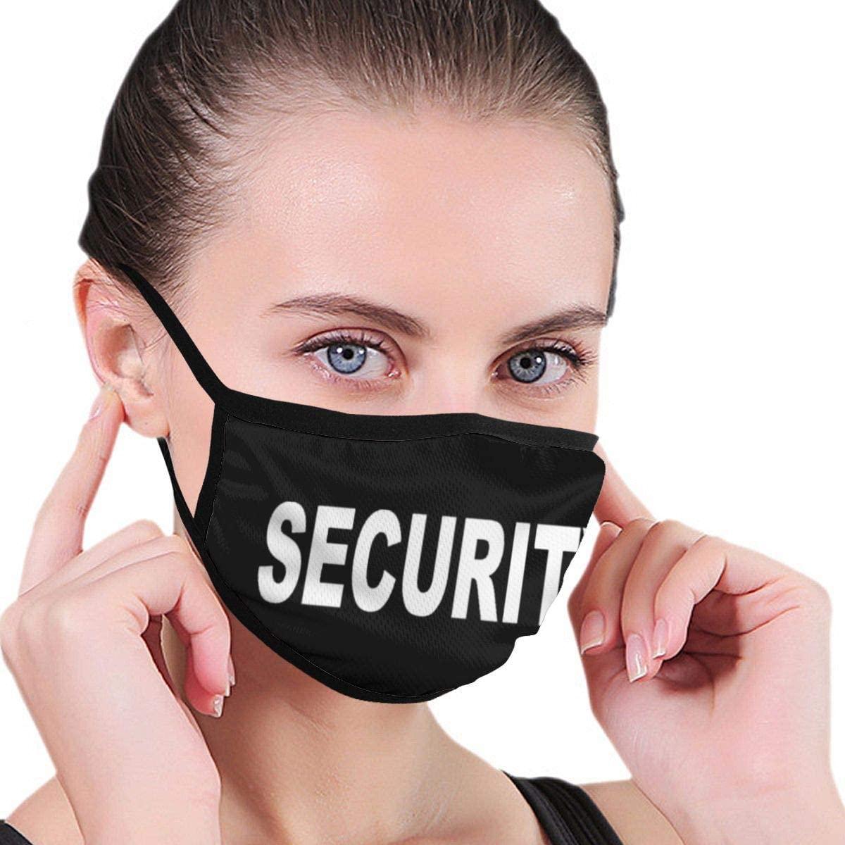 Security Unisex Fashion Face Bandanas Head Band Wears Scarf Face Tube Neck Scarf
