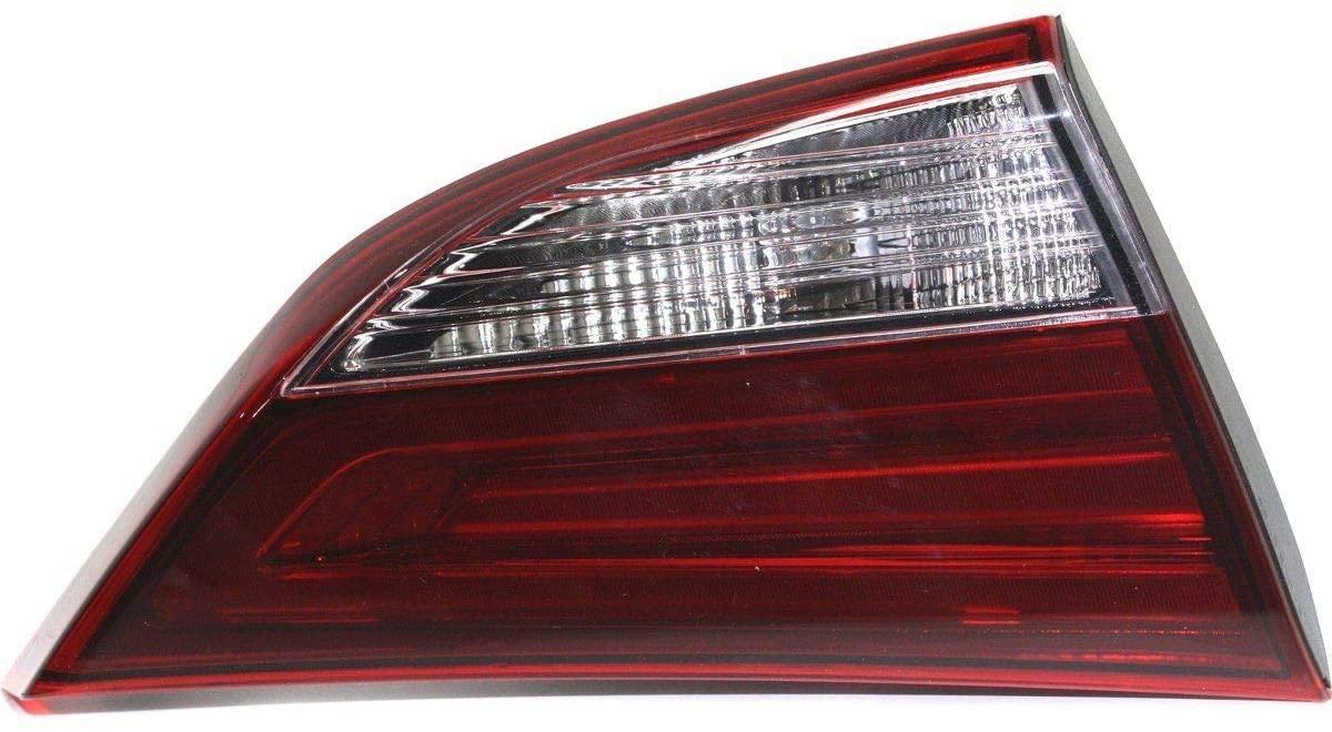Halogen Tail Light For 2014-2016 Hyundai Elantra Korea Built Left Inner w/Bulbs