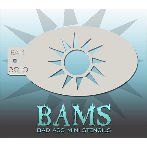 Bad Ass Sunshine Mini Stencil BAM3016