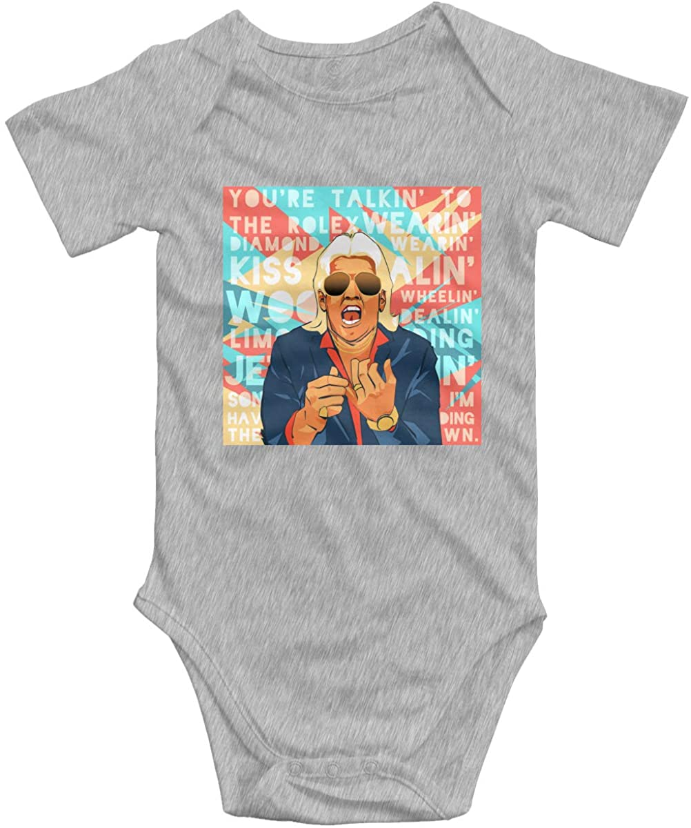 RIC Flair Baby Bodysuit Blink Climbing Clothes Gray 18 Months