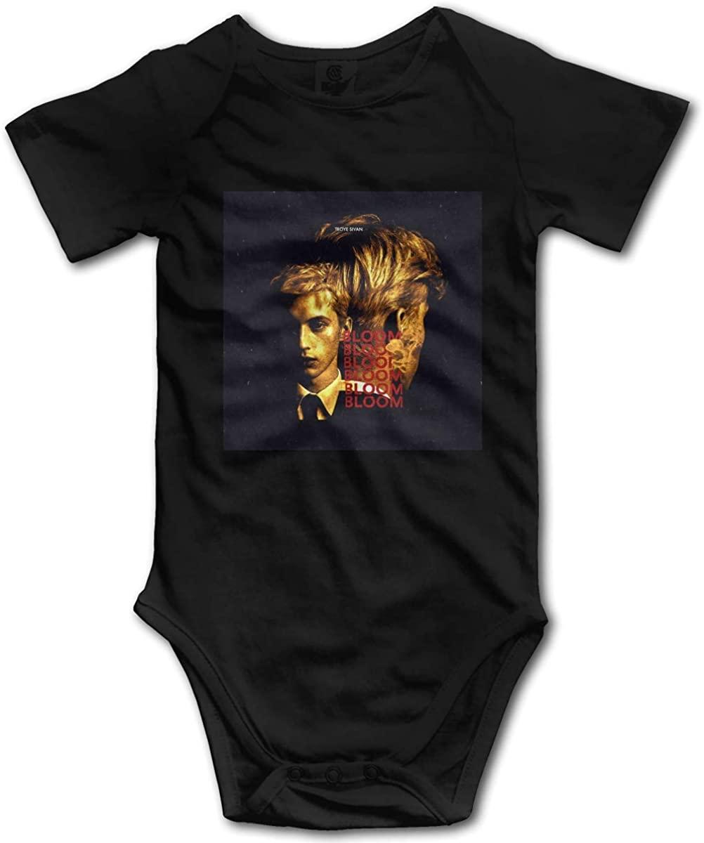 Vdsdsf Troye Sivan Bodysuits Baby Cotton Bodysuits Comfortable Short Sleeve Infant Onesies 0-3m