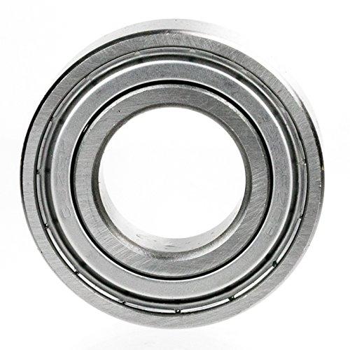 1x 6801-ZZ Ball Bearing 12mm x 21mm x 5mm Double Shielded Rubber Seal NEW 2Z