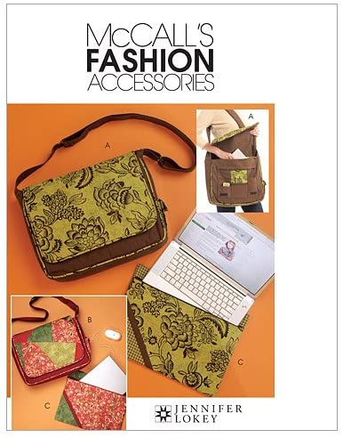 McCall's Patterns M5824 Bags and Laptop Cover, One Size Only