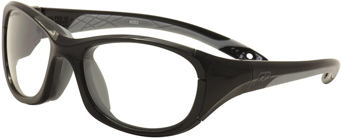 Liberty Sport F8 Men's All Pro 203 Shiny Black/Grey Sport Sunglasses Strap 60mm