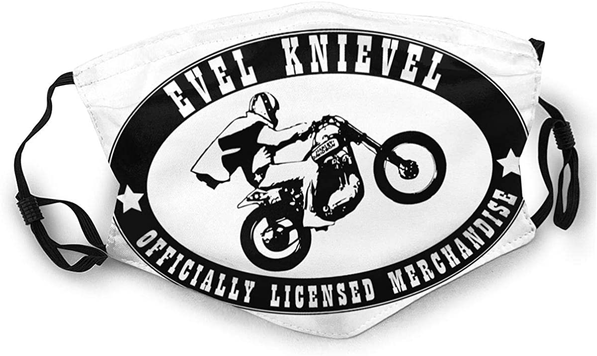 Evel Knievel Reusable For Men Women Breathable Adult Dust Face Mouth Cloth Balaclava