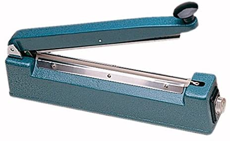 Electric Bag Sealer - 40 cm Max. Width 54 cm Blue Metal - 1 Units