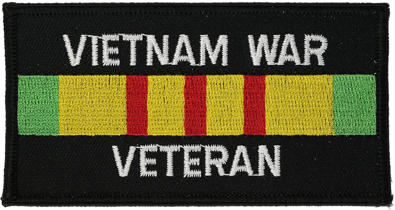 Vietnam War Veteran Service Ribbon Patch 4 inch Patch AKPT292