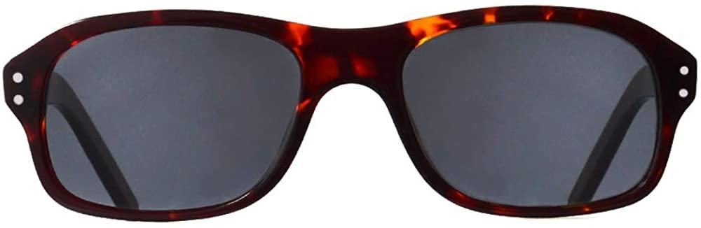 Eareada Men Square Acetate Sunglasses Kingsman Glasses Vintage Eyeglasses 52MM Polarized UV400 Colorful Eyewear