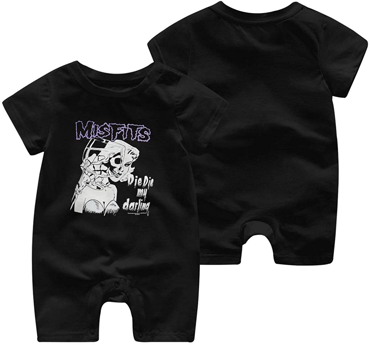 The Misfits Die My Darling Baby Jersey Boys Girls Jumpsuit Bodysuit